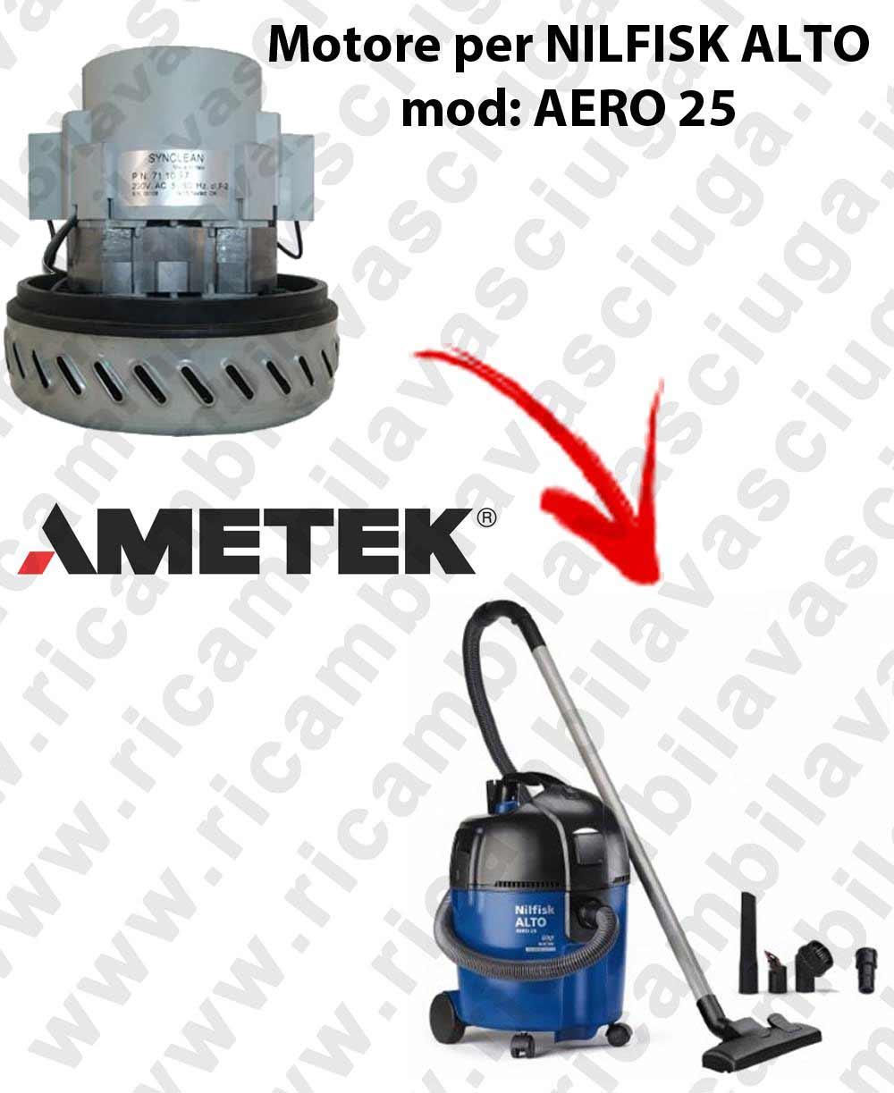 AERO 25 - Motore aspirazione per aspirapolvere  NILFISK ALTO