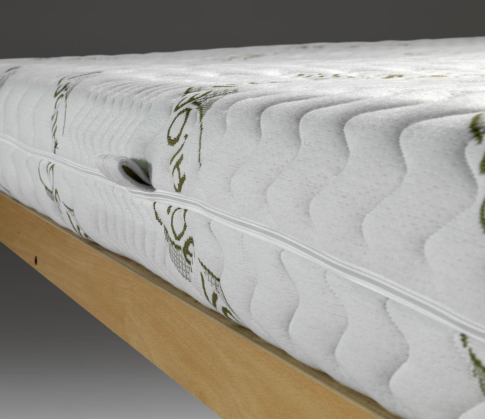 matelas latex avec housse en aloe vera latex sfod ebay. Black Bedroom Furniture Sets. Home Design Ideas