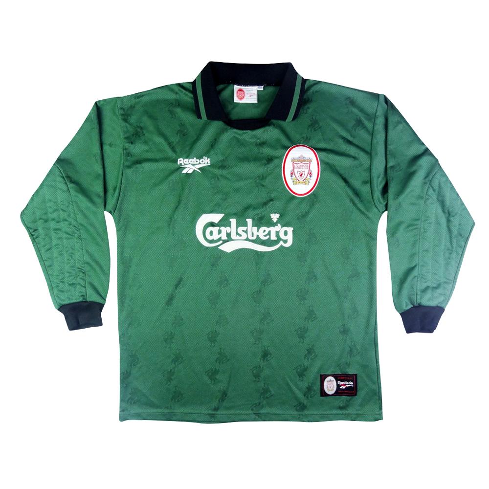 1996-97 Liverpool Maglia Portiere L  (Top)
