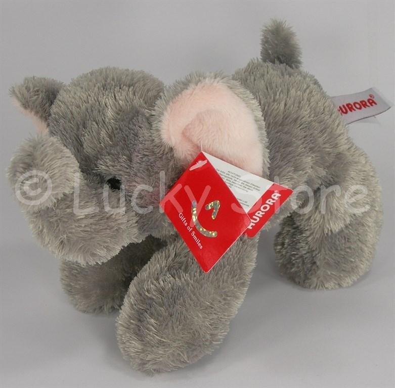 Aurora Baby Elephant Ellie elefante peluche 20 cm qualità extra