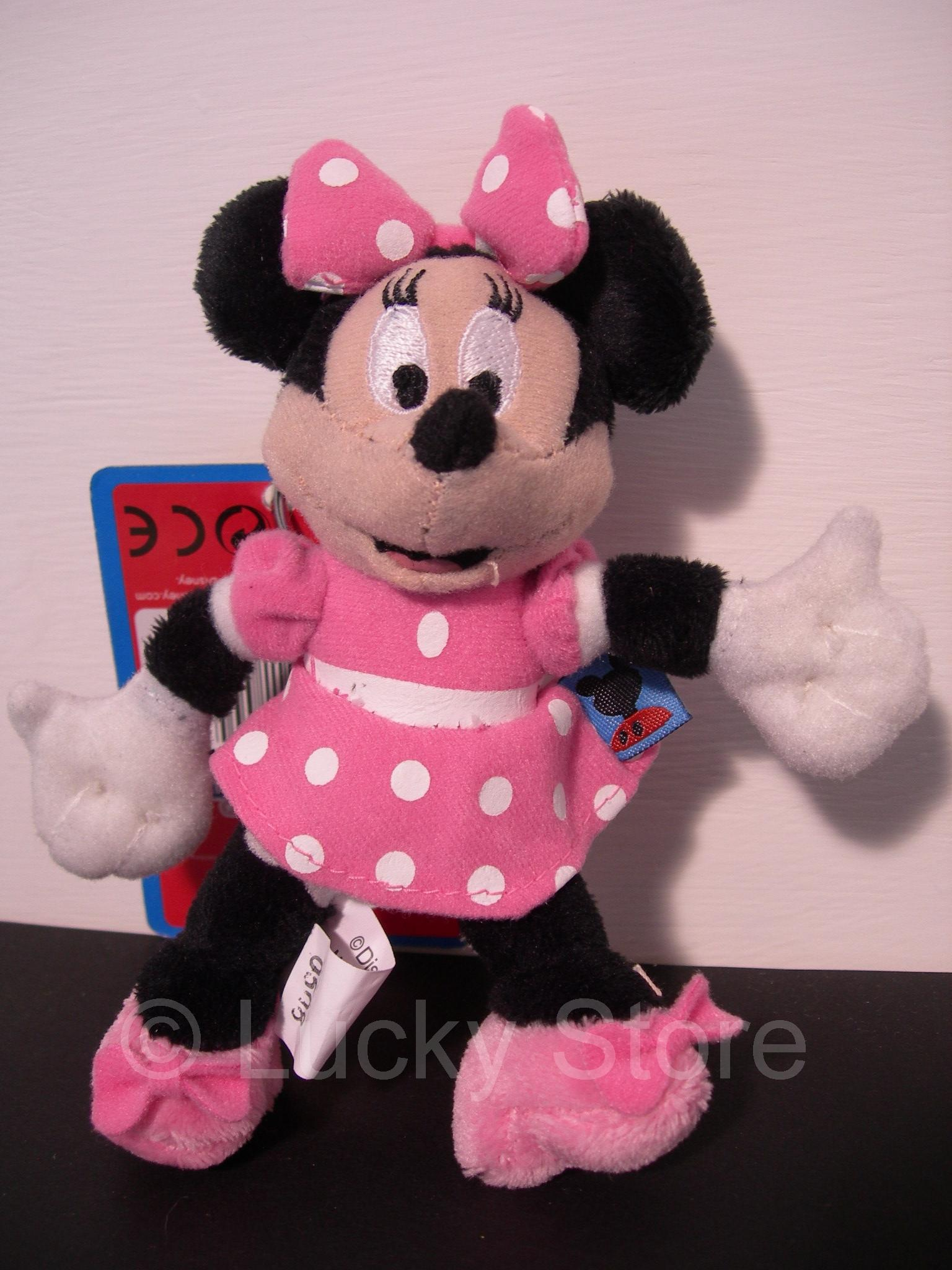 Disney Club House Minnie portachiavi peluche