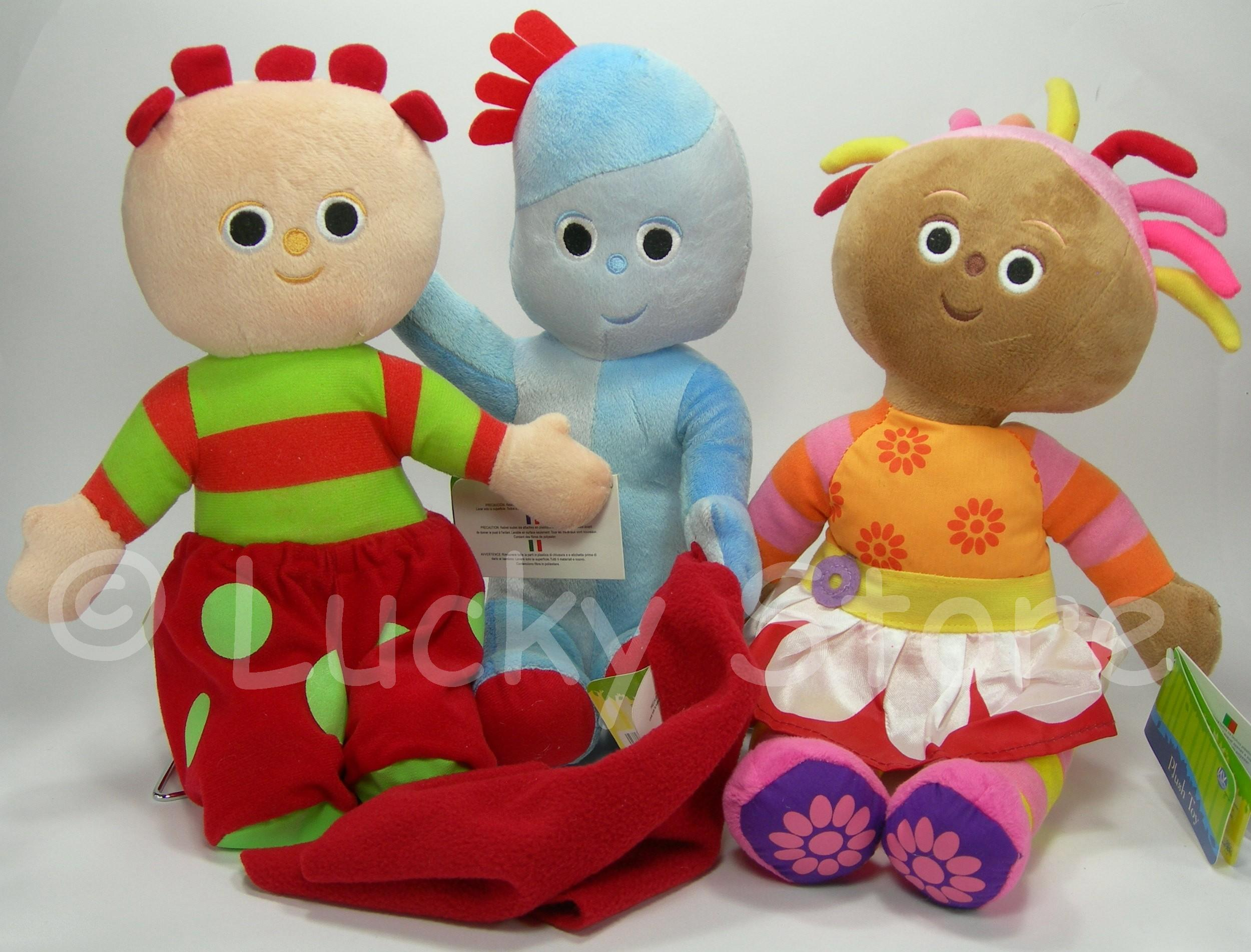 Foresta dei Sogni Trio peluche 30-35 cm velluto In the Night Garden