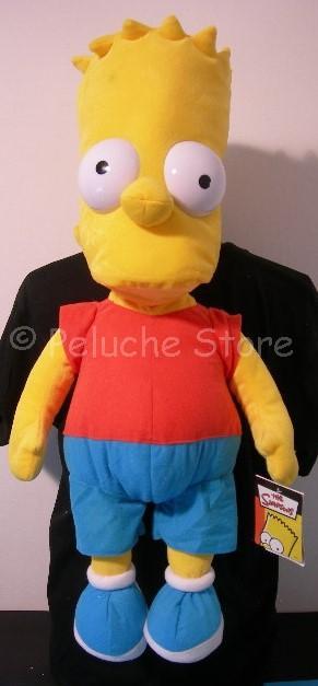 Simpson Bart peluche Giagante 65 cm The Simpsons Originale Homer