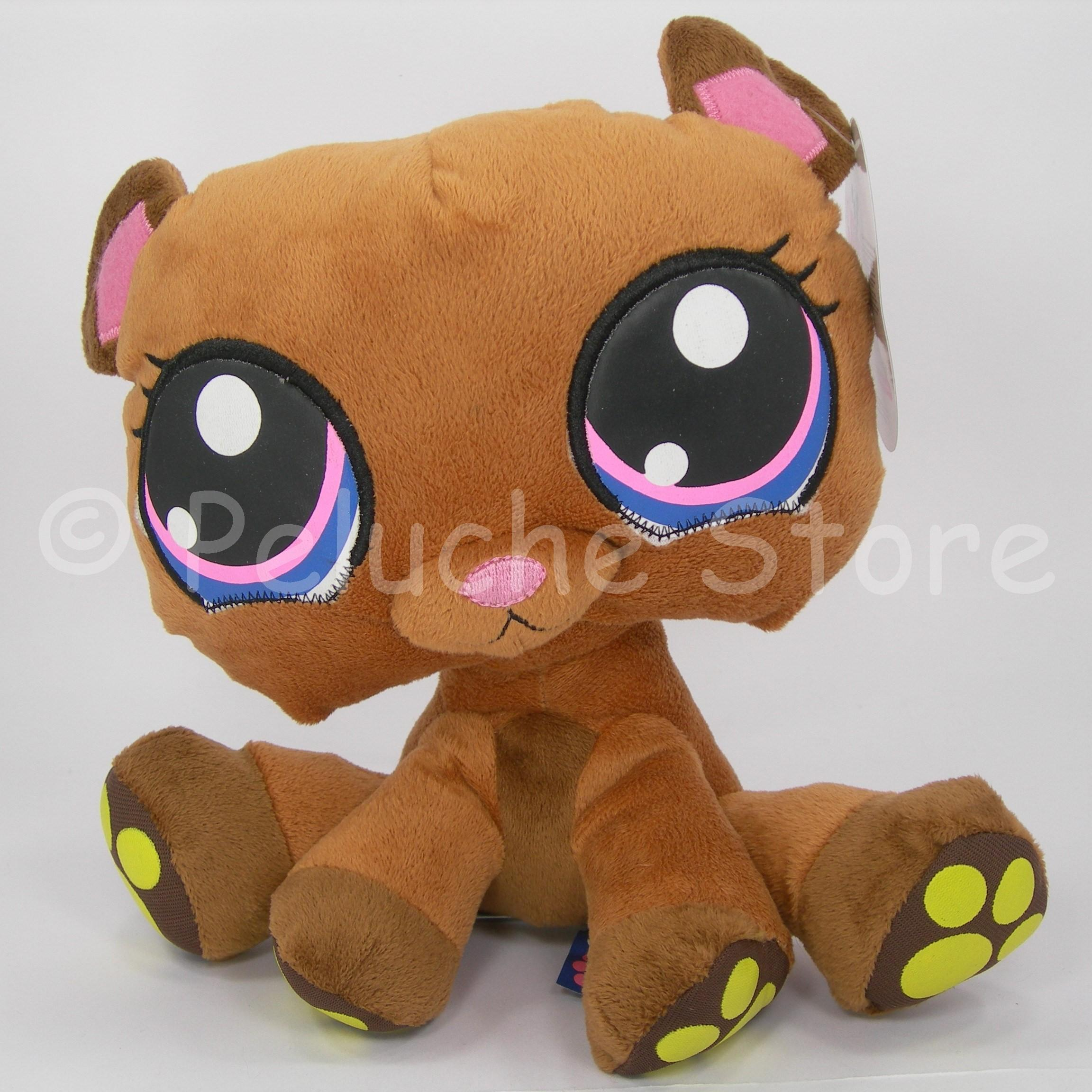 Littlest Pet Shop serie 2 peluche 25 cm Qualità velluto Originale Orsetto