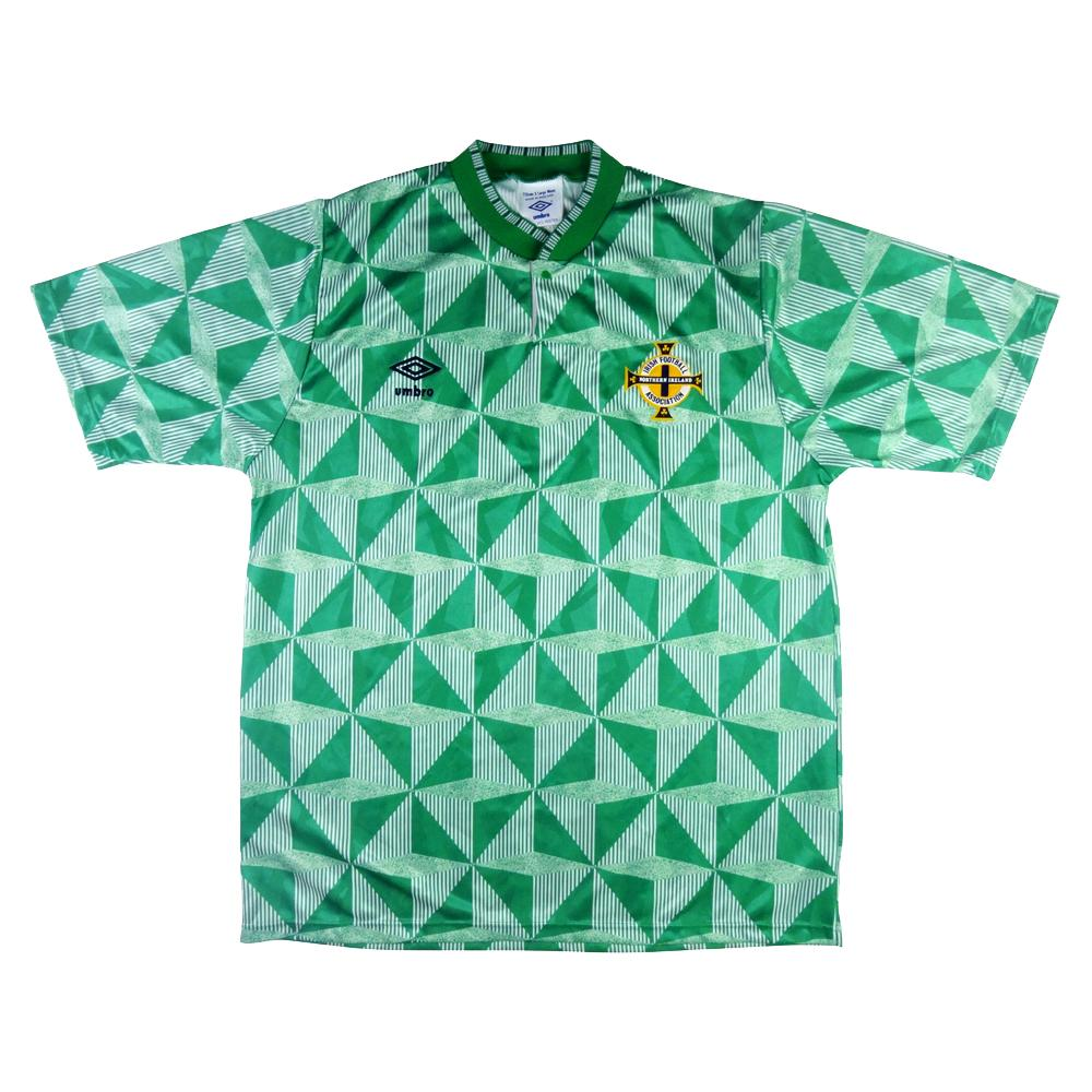 1990-92 Irlanda del Nord Maglia Home XL (Top)