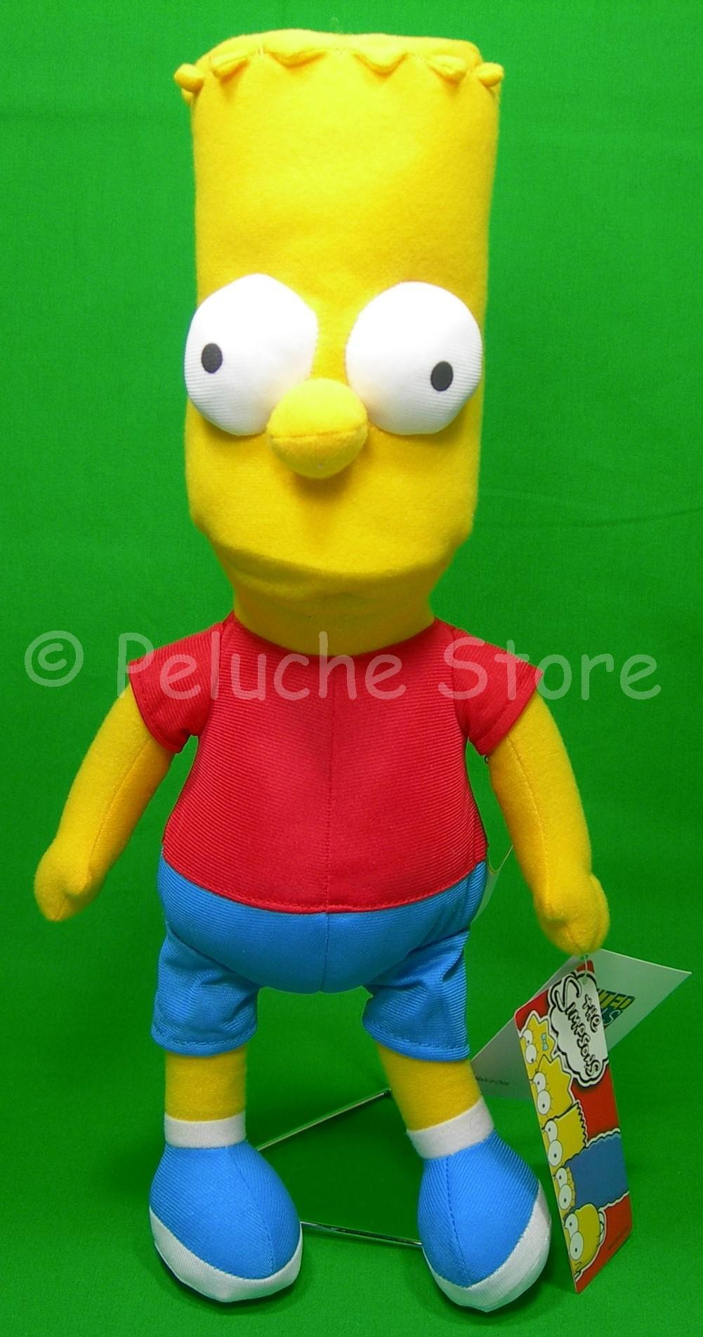 Simpson peluche 20 cm Bart Homer Marge Lisa Maggie Originali