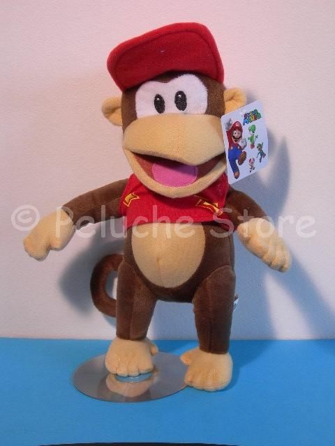 Super Mario peluche Grande 50 cm Luigi Donkey Kong Toad Nintendo
