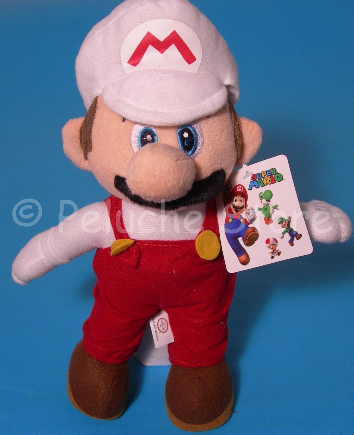 Super Mario Galaxy Fire peluche 30 cm Originale Nintendo