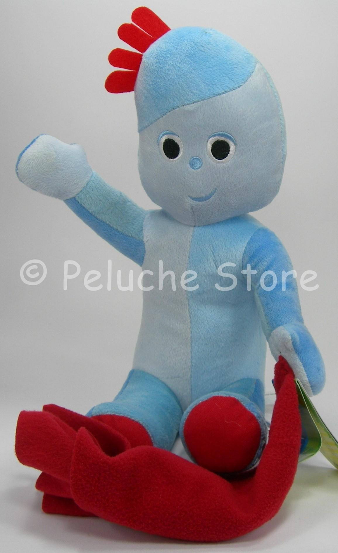 Foresta dei Sogni Iggle Piggle peluche 35 cm velluto In the Night Garden