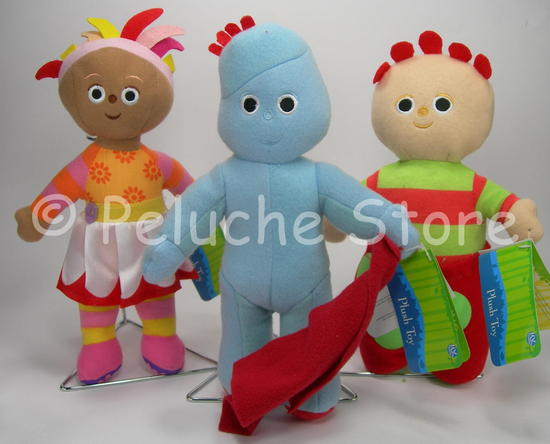 Foresta dei Sogni Iggle Piggle Upsy Daisy Tombliboo trio peluche 25 cm