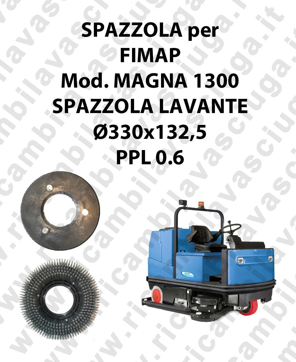 MAGNA 1300 - SPAZZOLA LAVARE per lavapavimenti FIMAP