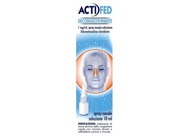 ACTIFED Spray nasale Decongestionante