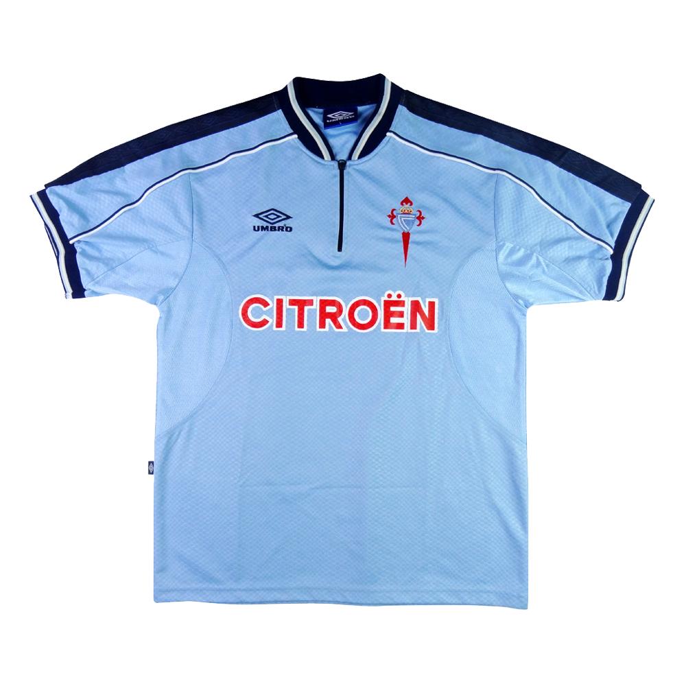 1999-01 Celta Vigo Maglia Home L (Top)