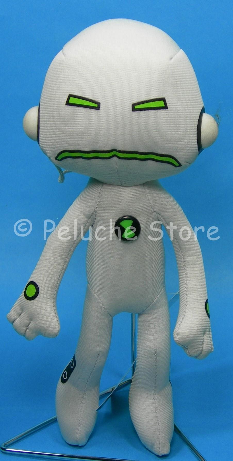 Ben 10 Alien Force Echo pupazzo peluche 25 cm Originale