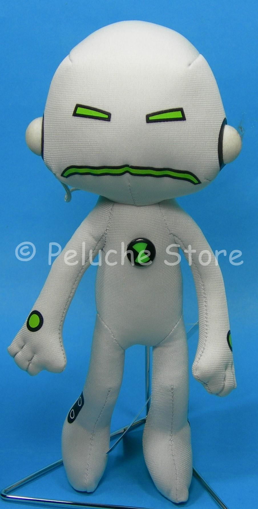 Ben 10 Alien Force Echo pupazzo peluche 20 cm Originale