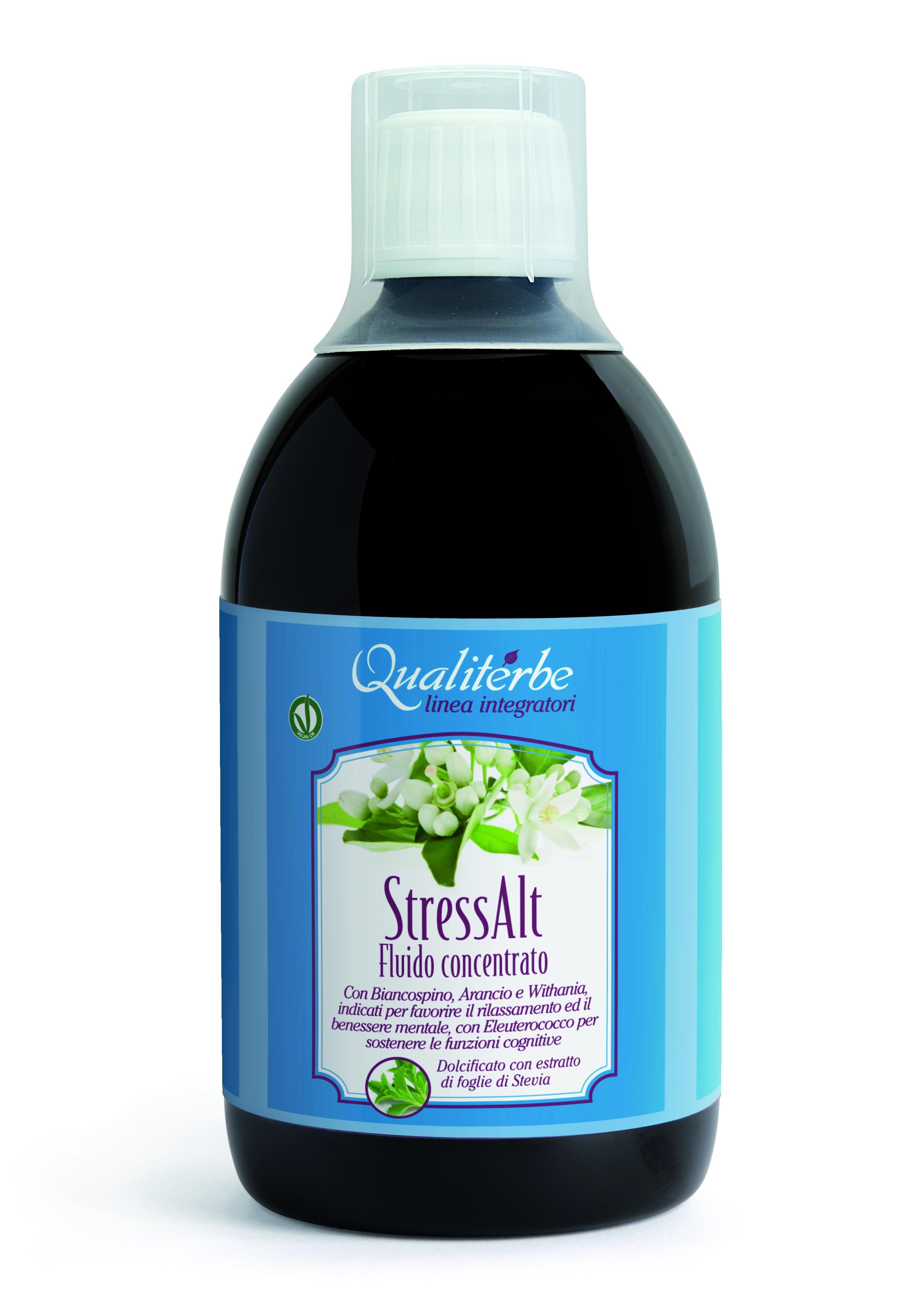 STRESS- ALT (VeganOk) antistress e antiossidante analcolico in Fluido concentrato 500 ml