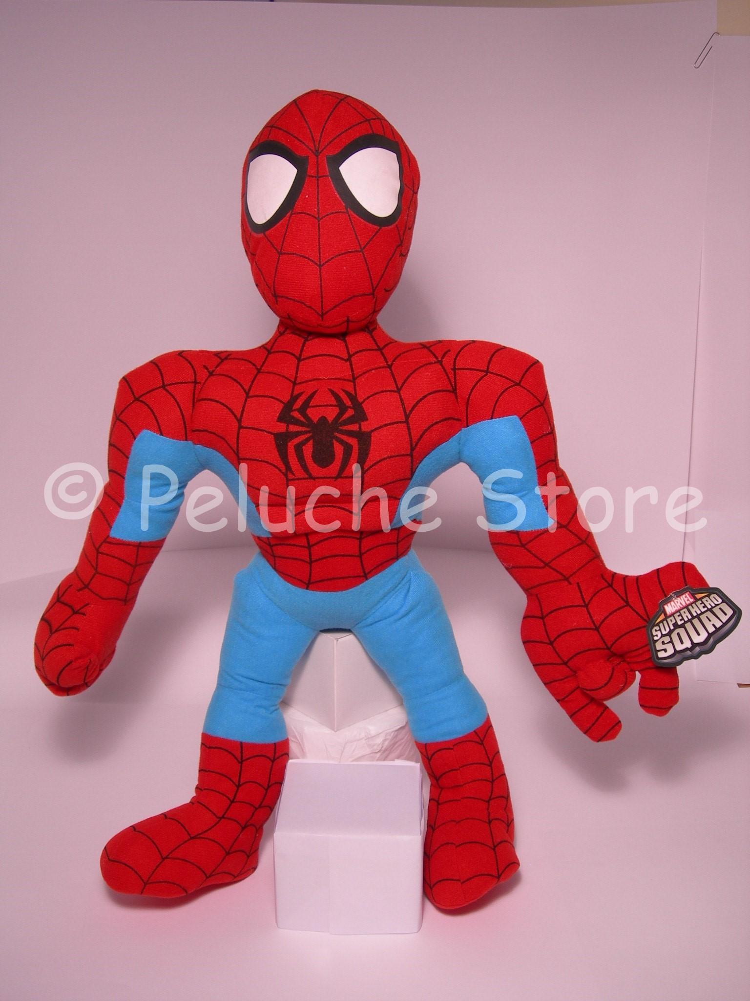 Marvel Avengers Super Heroes Squad peluche Gigante 70 cm Spiderman