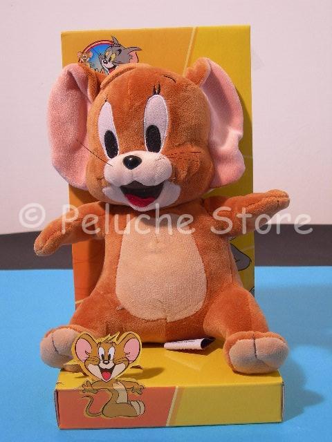 Tom & Jerry peluche 25 cm velluto in blister Nuovo Originale