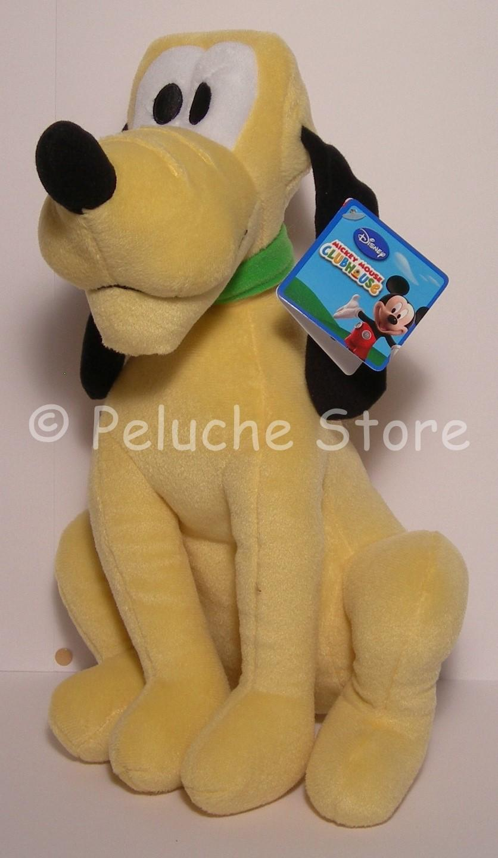 Disney Casa di Topolino Pluto peluche Grande 50 cm Nuovo Originale