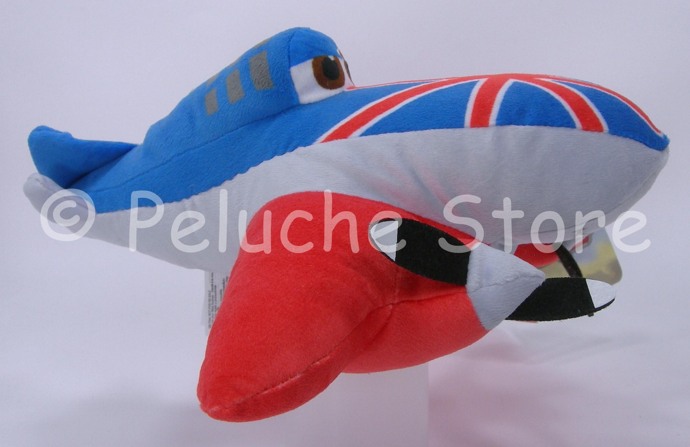 Disney Planes peluche Velluto 25 cm Bulldog Ishani Chupacabra Ripslinger