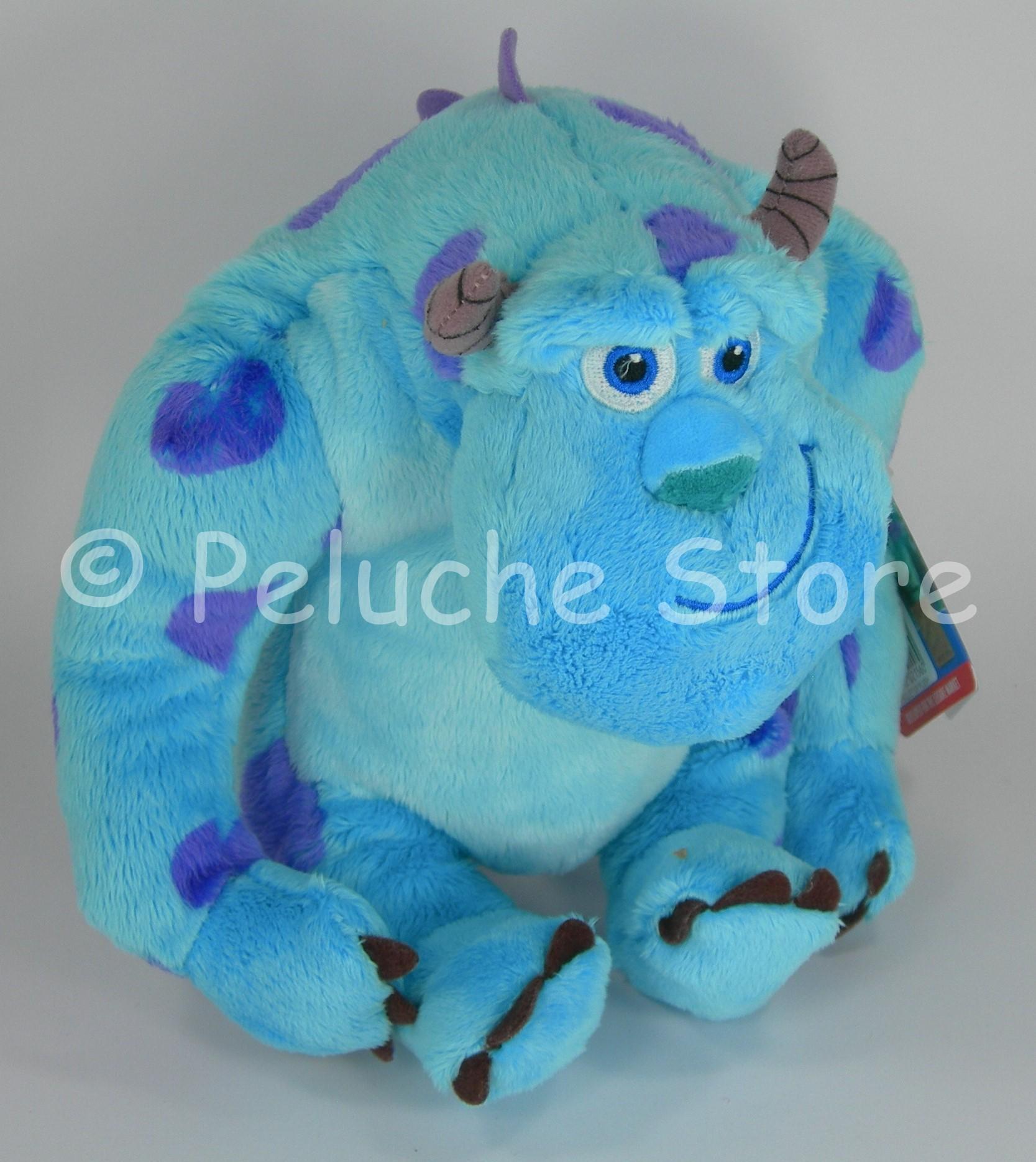Disney Monster & Co Mike Sullivan peluche 25 cm velluto Sulley Bo Originale