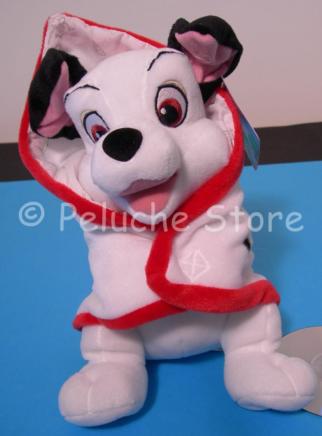 Disney Animal Friends peluche con copertina 30 cm Dalmata Marie Lilly Bambi