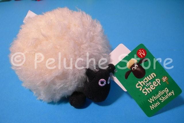 Shaun the Sheep Shirley Peluche Sonoro 15 cm Pecora Originale