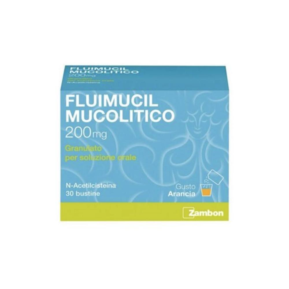 FLUIMUCIL MUCOLITICO 30 BUSTE A BASE DI ACETILCISTEINA 200MG