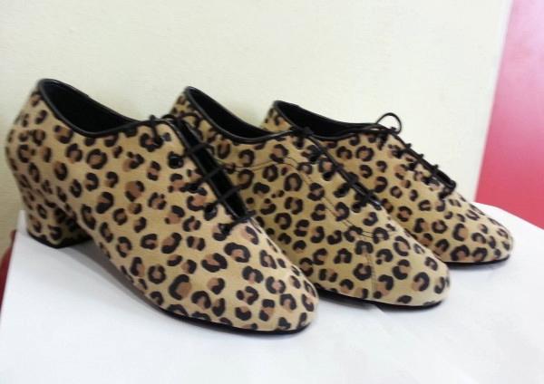 outlet store d67e3 efe2c Scarpe donna latino americano leopardate - cod.UD allenamento donna