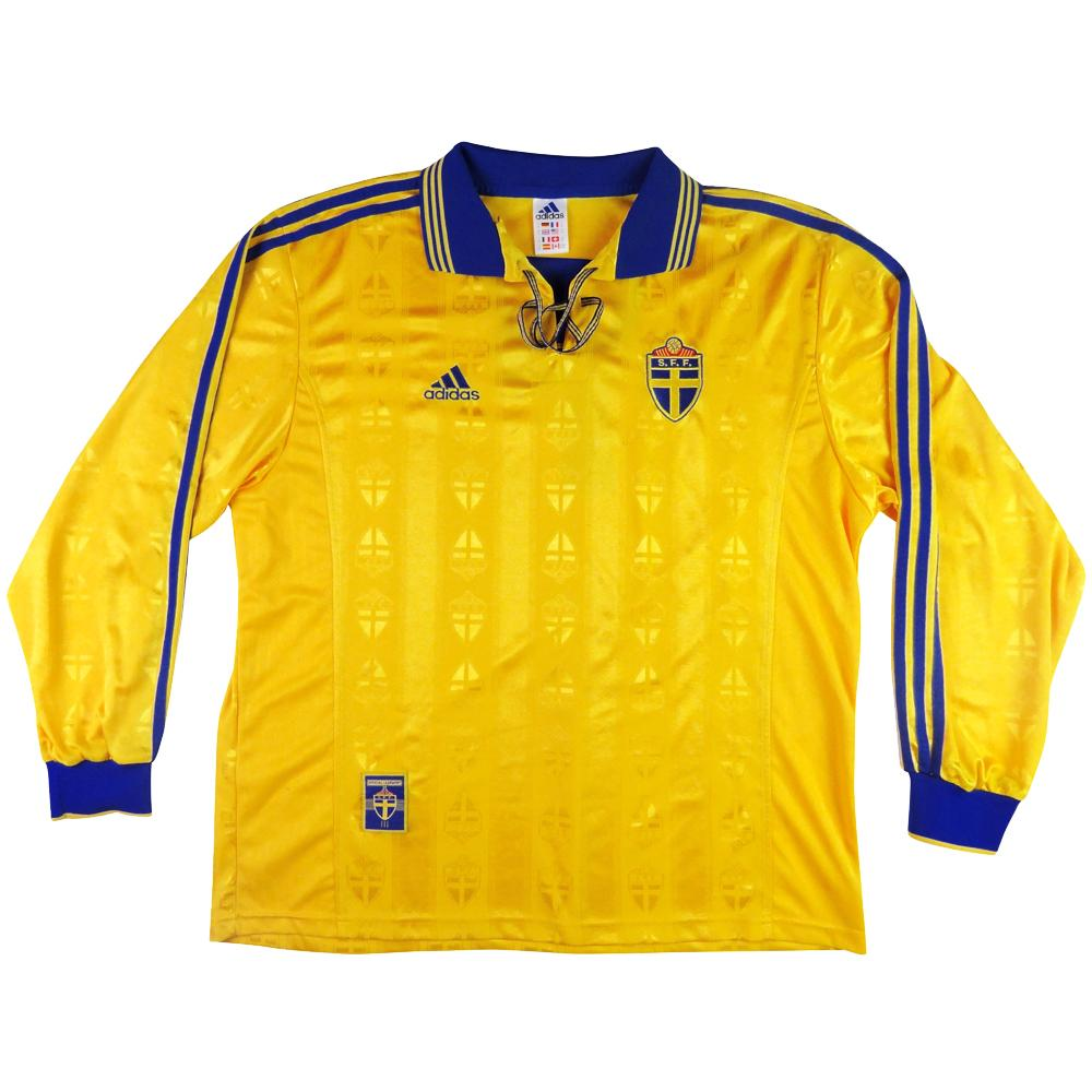 1998-99 Svezia Maglia Player Issue Home XL