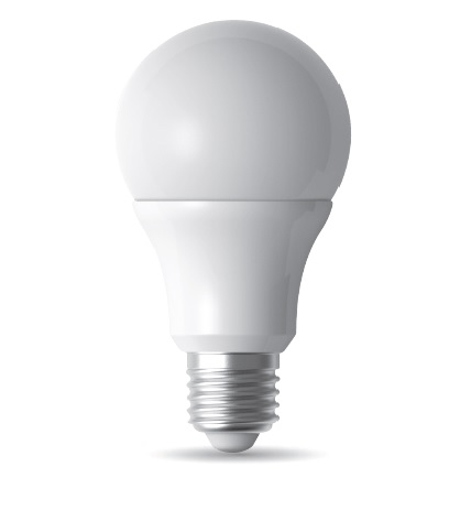 Lampadina E27 Goccia Led 9 watt