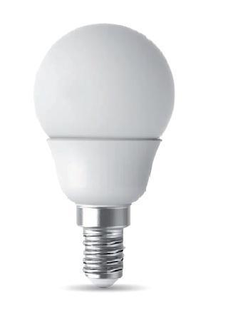 Lampadina E14 Sfera Led Power 6watt