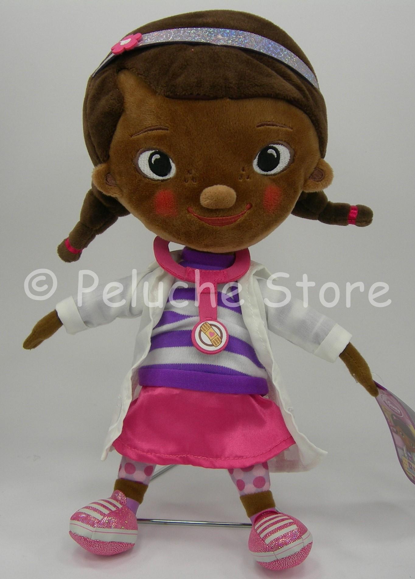 Disney Store Dottoressa Peluche Dottie peluche 30 cm velluto