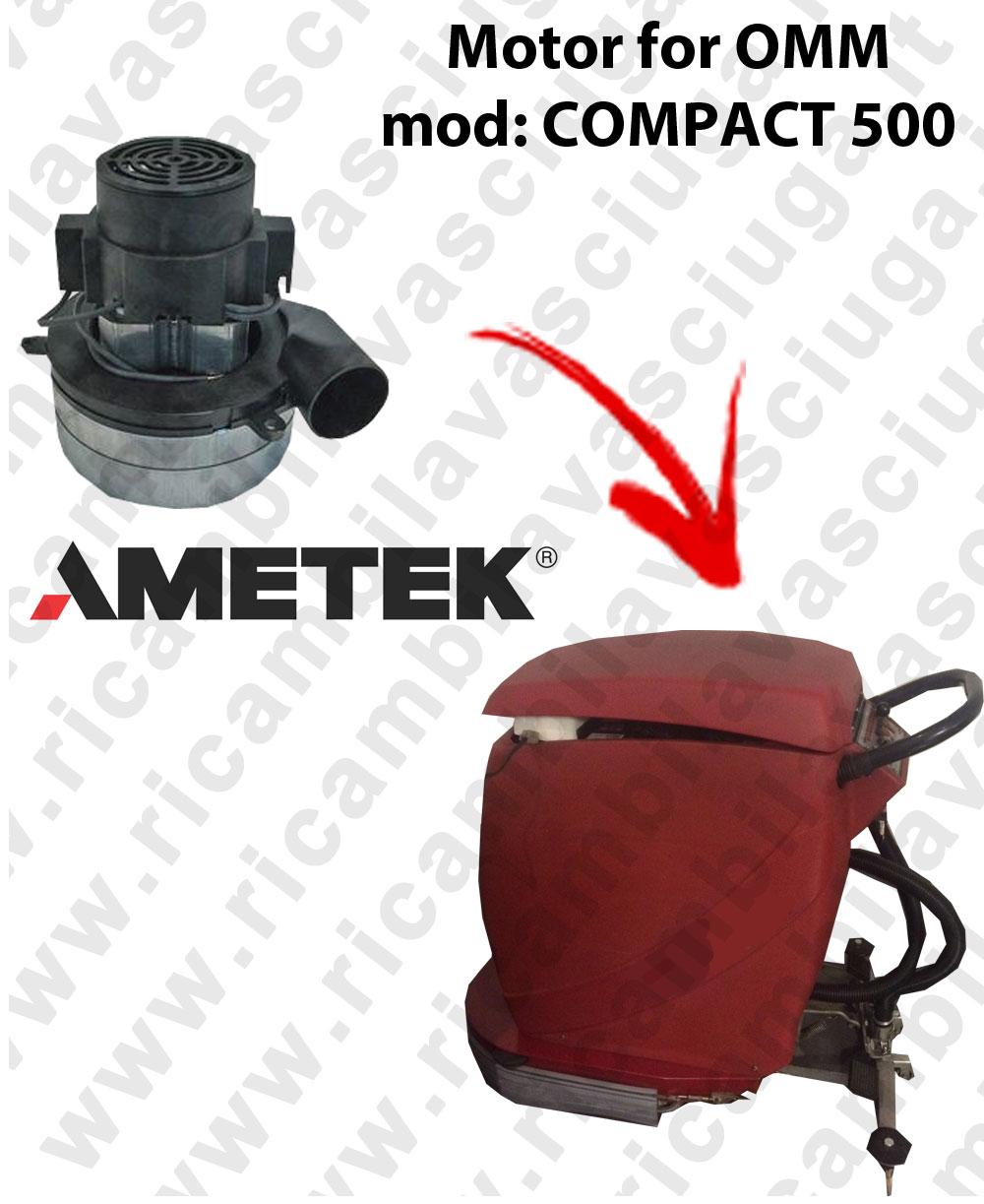 COMPACT 500 Motore aspirazione AMETEK ITALIA per lavapavimenti OMM