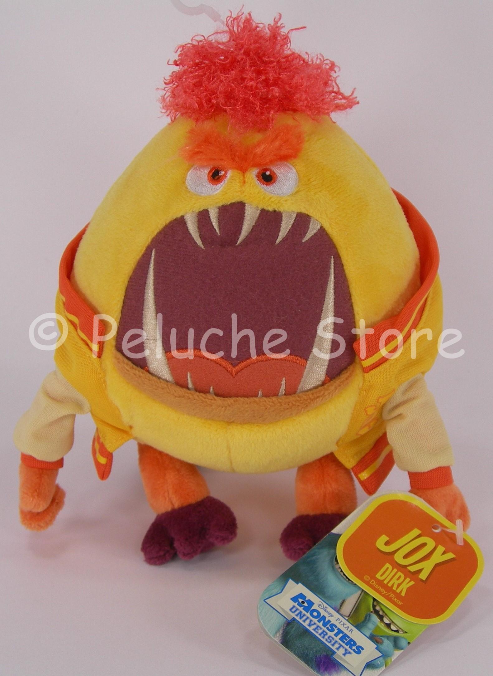 Disney Store Monsters University Dirk JOX Fraternity peluche 25 cm