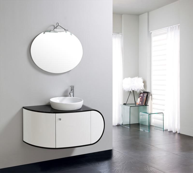 Mobile bagno con lavabo - Misure accessori bagno ...