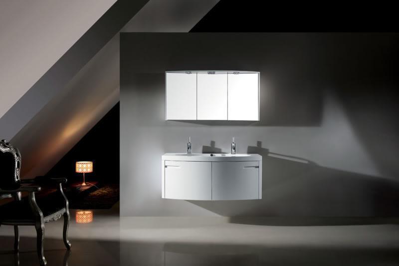 Mobile bagno con lavabo for Specchio bagno doppio lavabo
