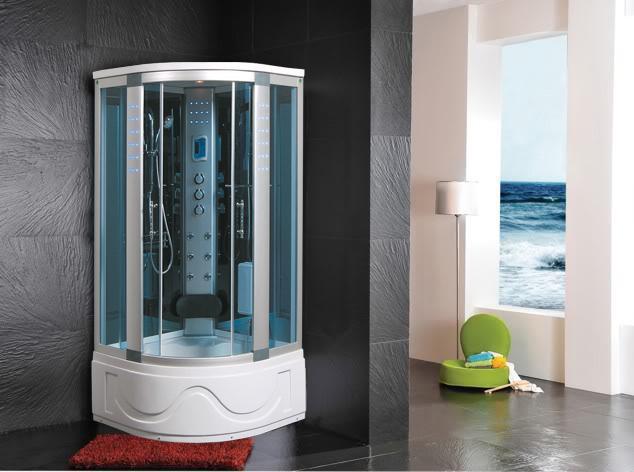 Cabina doccia idromassaggio sauna bagno turco - Cabina doccia con sauna e bagno turco ...