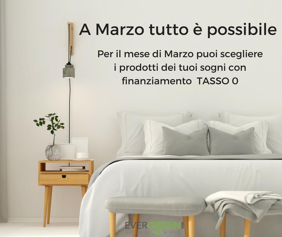 Materassi A Rate Senza Busta Paga.Offerte Tasso Zero Evergreenweb Materassi Beds