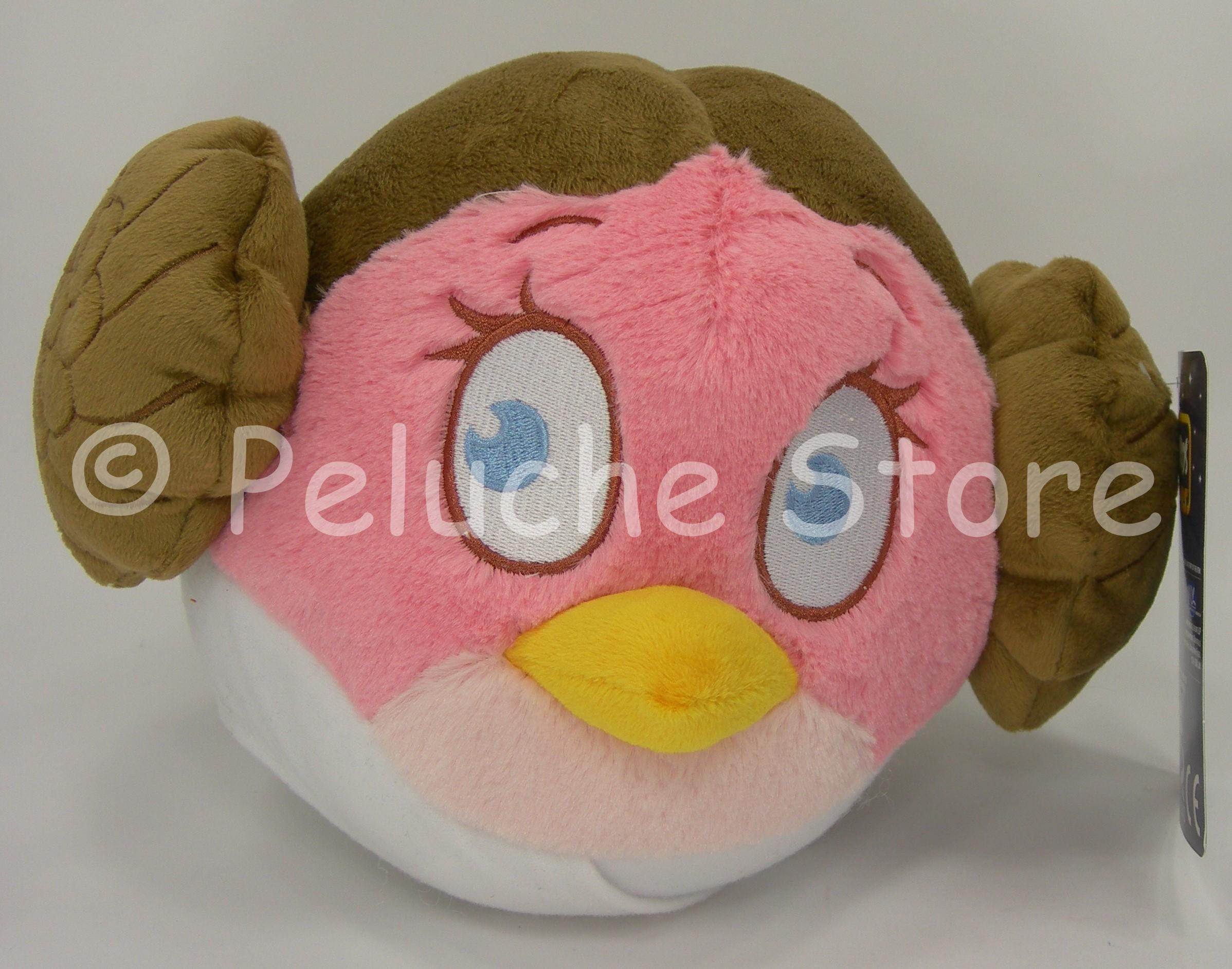 Angry Birds Star Wars Principessa Leia peluche 30 cm velluto