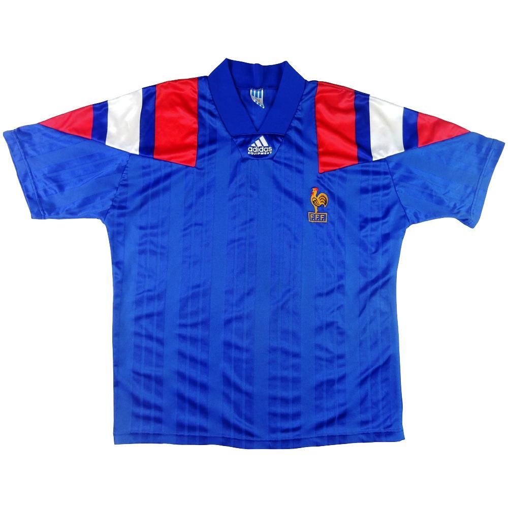 1992-94 Francia Maglia Home L (Top)