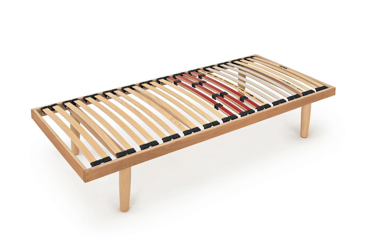 Rete a doghe per letto singolo modello lavanda - Rete per letto singolo ...