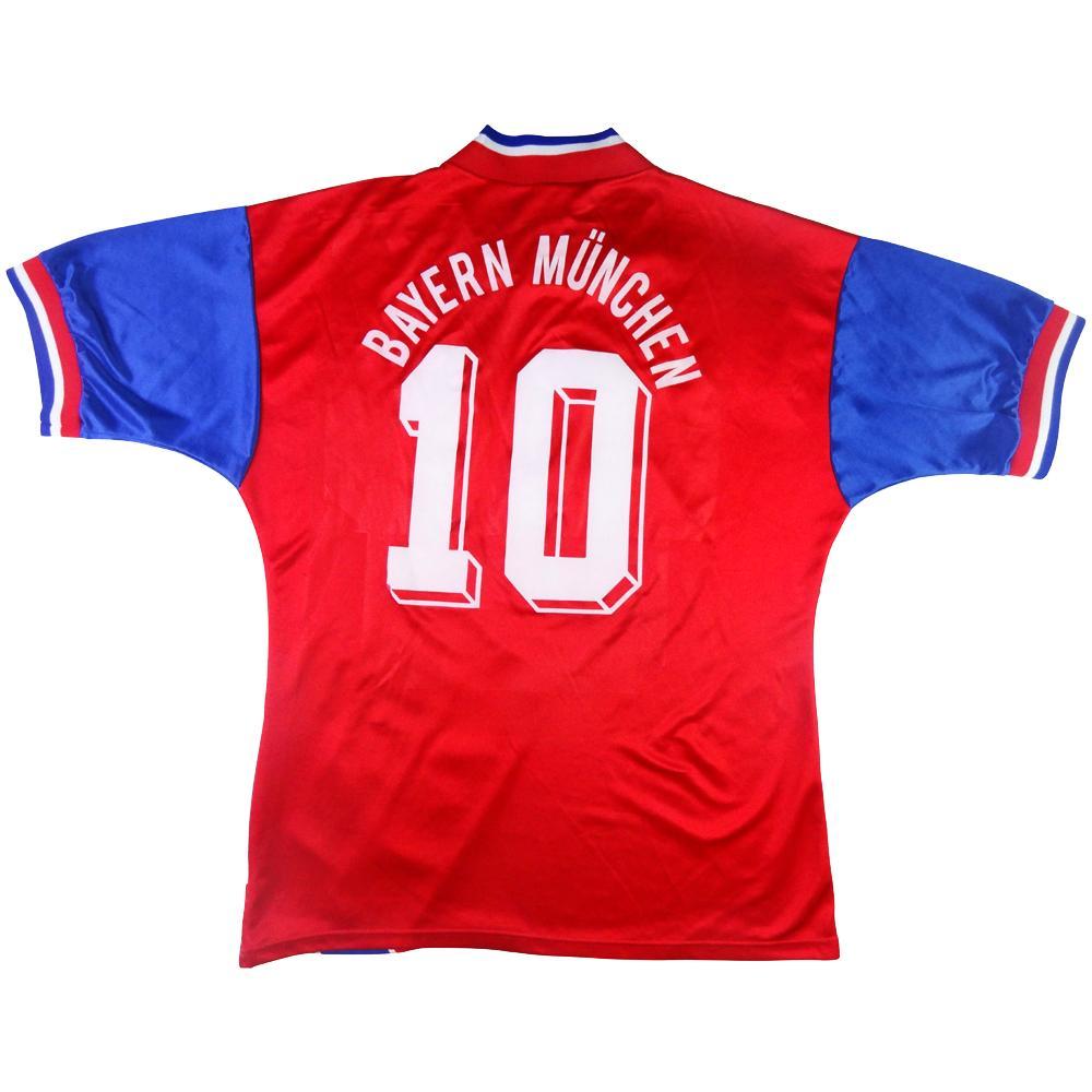 1993-95 BAYERN MONACO MAGLIA HOME #10 Matthäus L