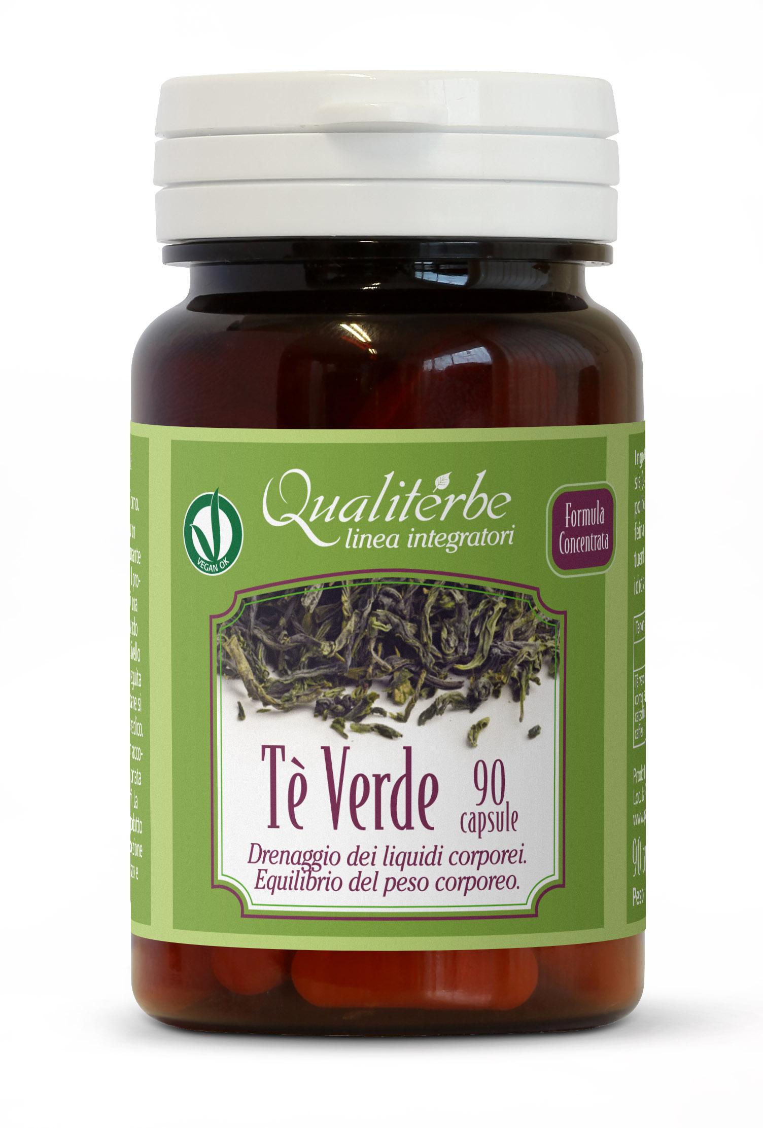 Qualiterbe - Tè Verde 90 Capsule