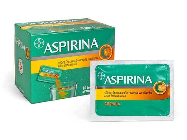 Aspirina C granulare all'arancia Bayer