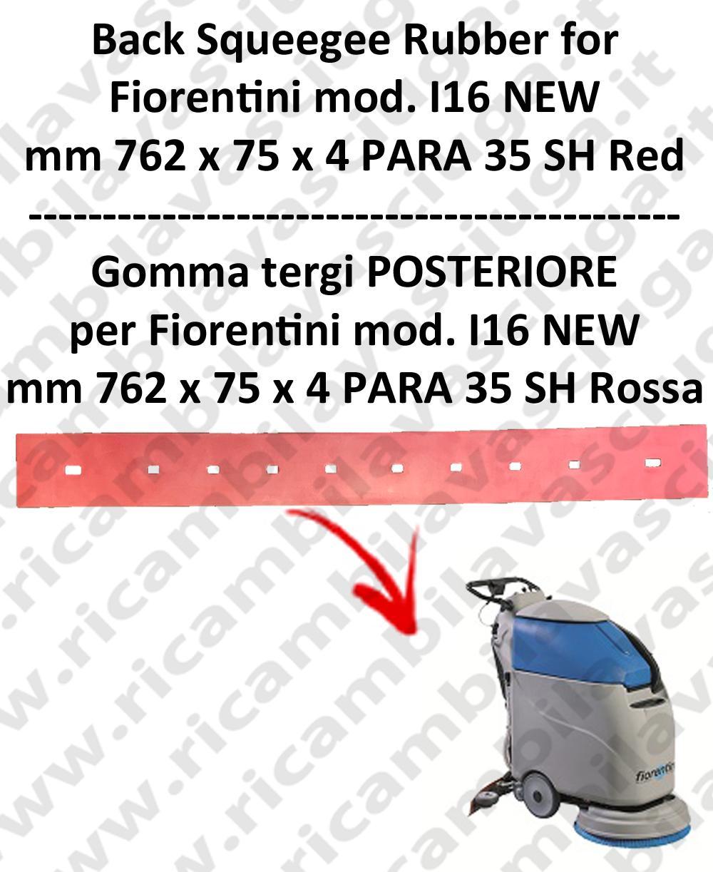 I16 NEW GOMMA TERGI posteriore per lavapavimenti  FIORENTINI