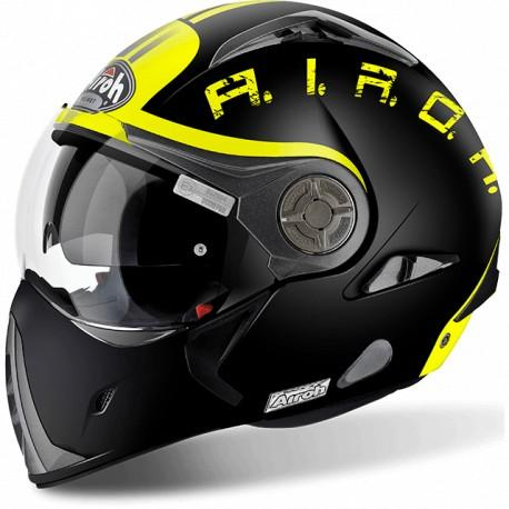CASCO MOTO AIROH J 106 SMOKE BLACK MATT J6SM11