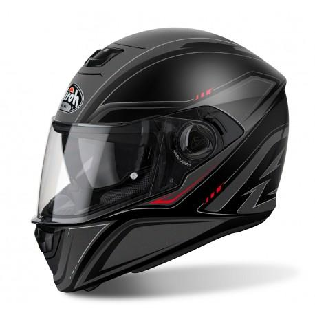 CASCO MOTO AIROH STORM SPRINTER BLACK MATT STS11