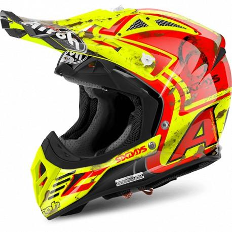 CASCO MOTO CROSS AIROH AVIATOR 2.2 SIX DAYS 2017 AV22SD755