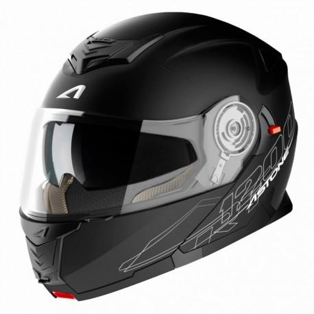 CASCO MOTO MODULARE ASTONE RT1200 MATT BLACK